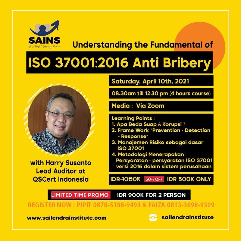 ISO 37001:2016 Anti Bribery Fundamental Workshop