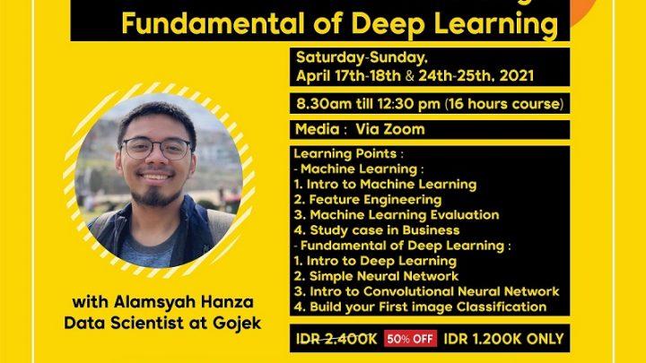 Machine Learning & Deep Learning Fundamental Training