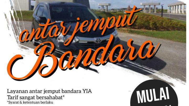 Layanan Antar Jemput Bandara Jogja – Yogyakarta International Airport