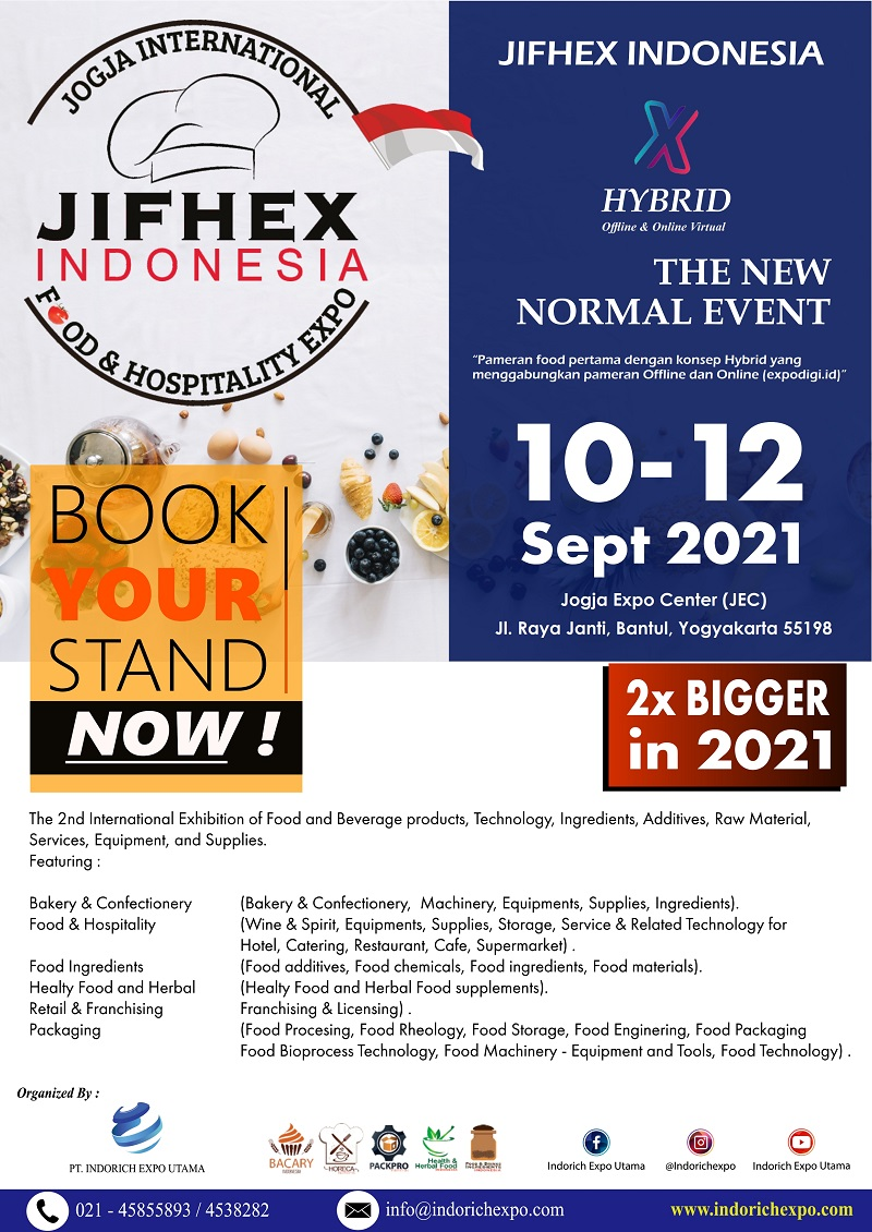 JIFHEX INDONESIA - Jogja International Food & Hospitality Expo