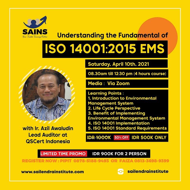 ISO 14001:2015 EMS The Understanding Workshop