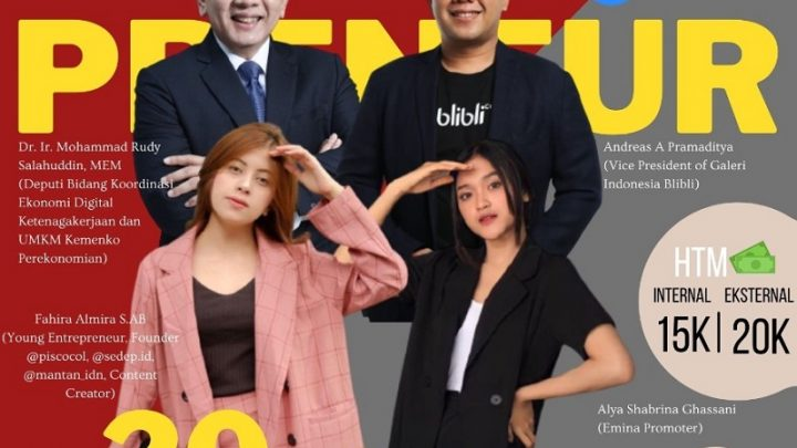 Webinar and Talkshow of Entrepreneur 2021