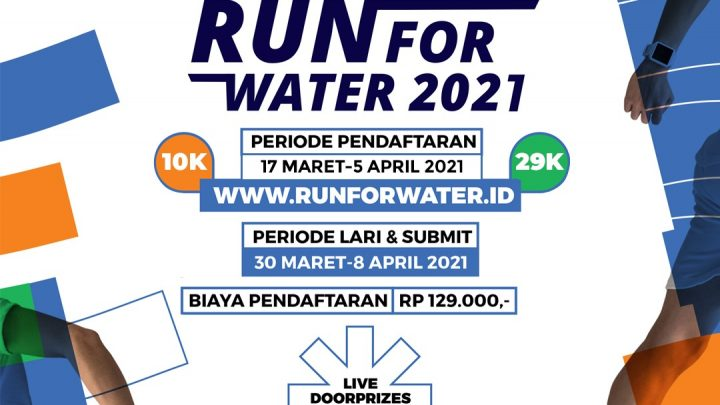 THE 1st VIRTUAL RUN FOR WATER 2021