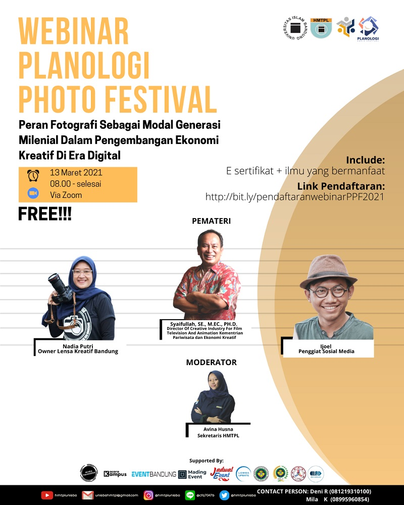 Webinar - Planologi Photo Festival