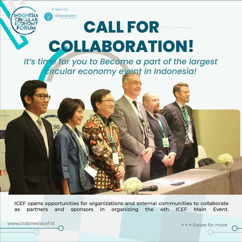 The 4th Indonesia Circular Economy Forum 2021 - Open for Collaboration!