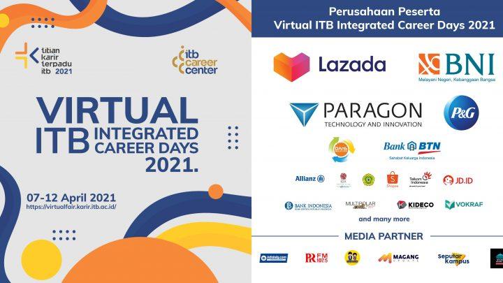 Virtual Titian Karir Terpadu ITB April 2021