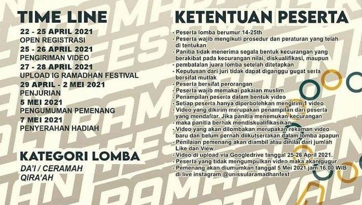 Ramadhan Festival UNISSULA