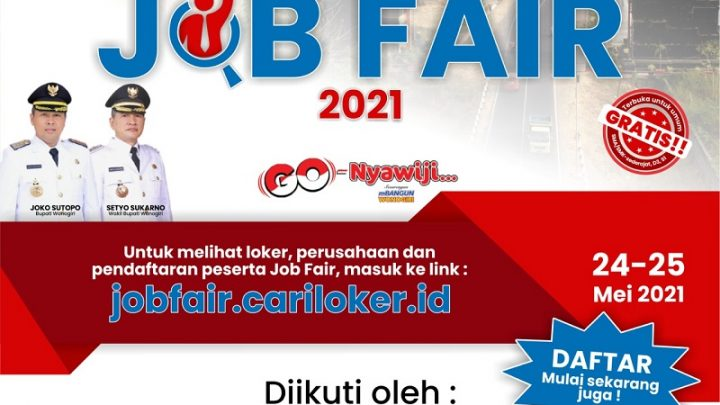 Wonogiri Job Fair Virtual 2021