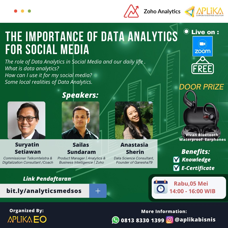 THE IMPORTANCE OF DATA ANALYTICS FOR SOCIAL MEDIA