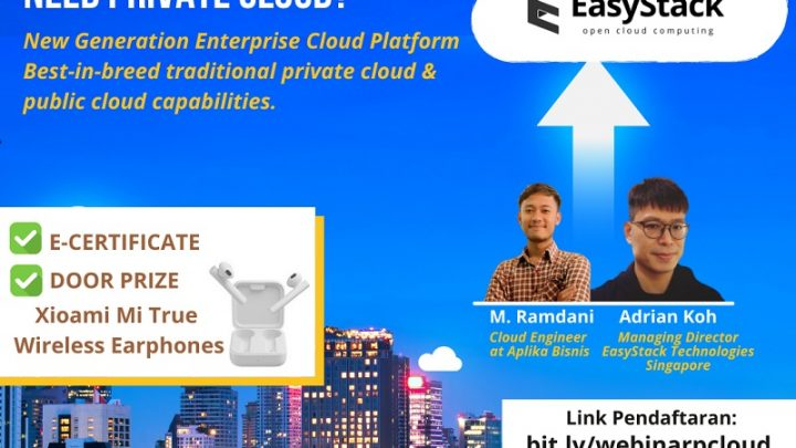 WEBINAR – WHAT IS PRIVATE CLOUD? WHY INDONESIAN COMPANIES NEED PRIVATE CLOUD?