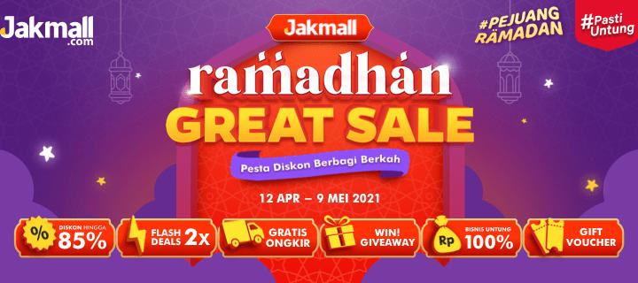 Promo Ramadhan 2021 – Jakmall Ramadhan Great Sale