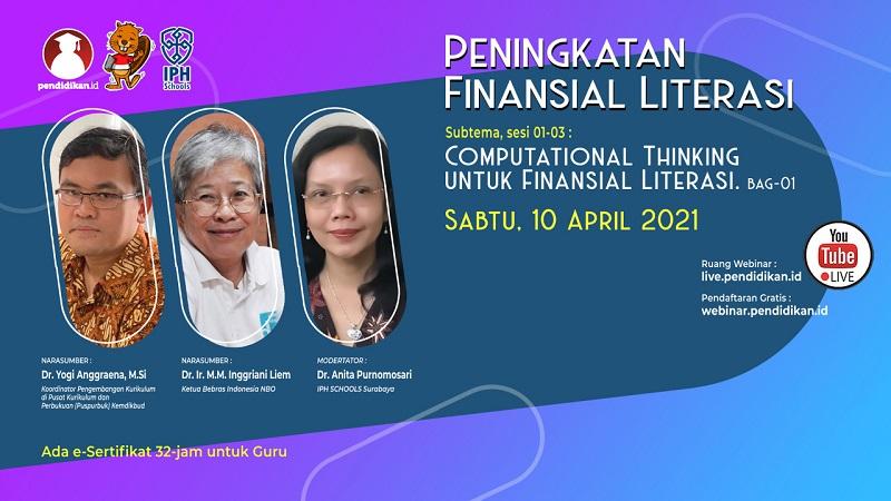 PENINGKATAN FINANSIAL LITERASI - Computational Thinking Untuk Finansial Literasi