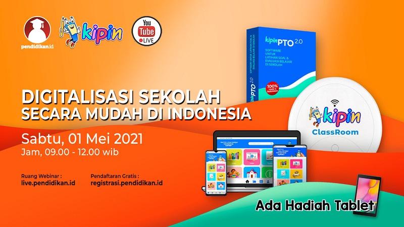 Webinar - Digitalisasi Sekolah Secara Mudah di Indonesia