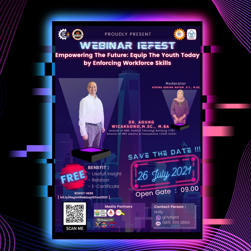 Webinar IEFest'21 - Empowering The Future: Equip The Youth Today by Enforcing Workforce Skills