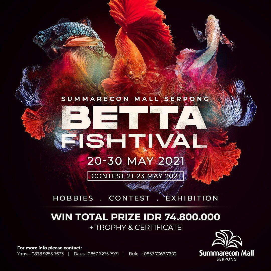Betta Fishtival - Summarecon Mall Serpong