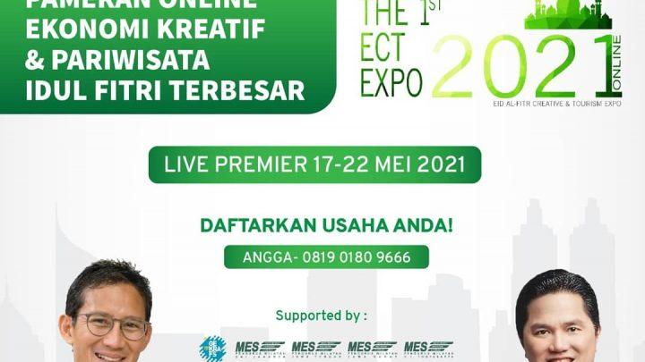 Road to ISEF 2021 – Pameran Online Ekonomi Kreatif dan Pariwisata Idul Fitri Terbesar 2021