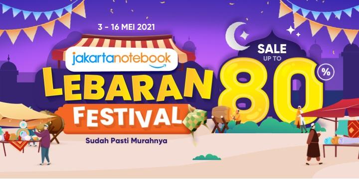 JakartaNotebook Lebaran Festival