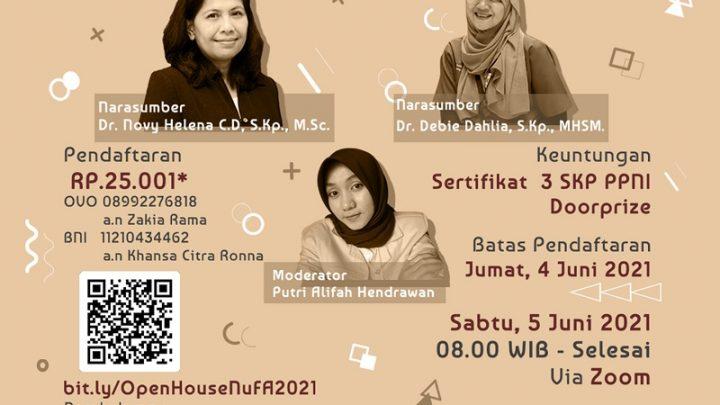 Webinar Open House NuFA FIK UI 2021