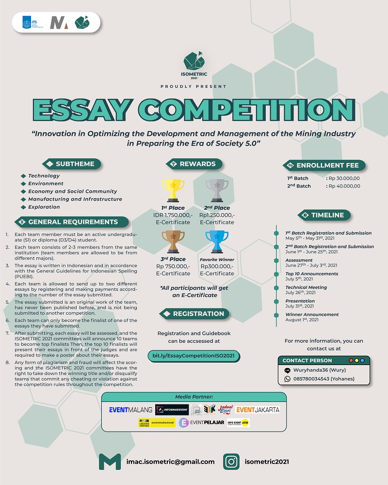 Essay Competition ISOMETRIC