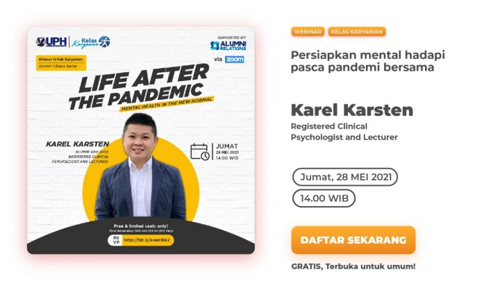 Webinar – Life After The Pandemic