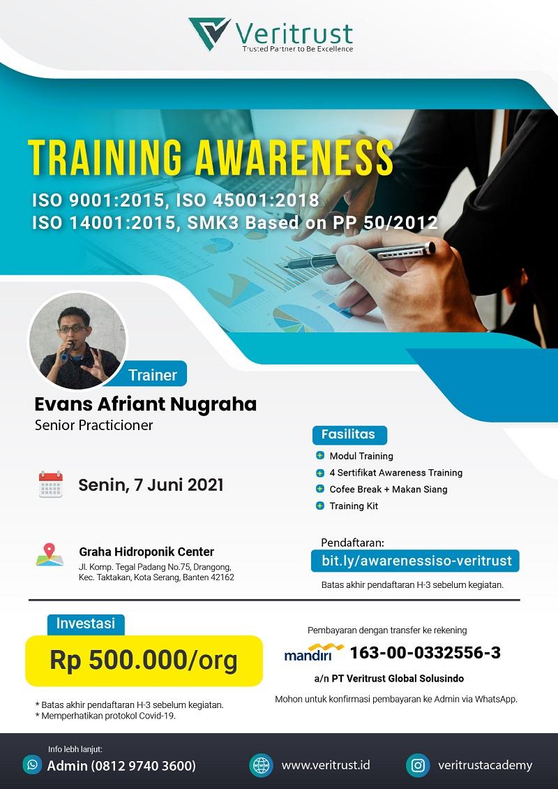 Training Awareness ISO QHSE