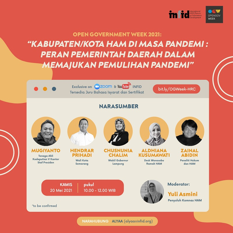 [OPEN GOVERNMENT WEEK 2021 - INFID SESSION]