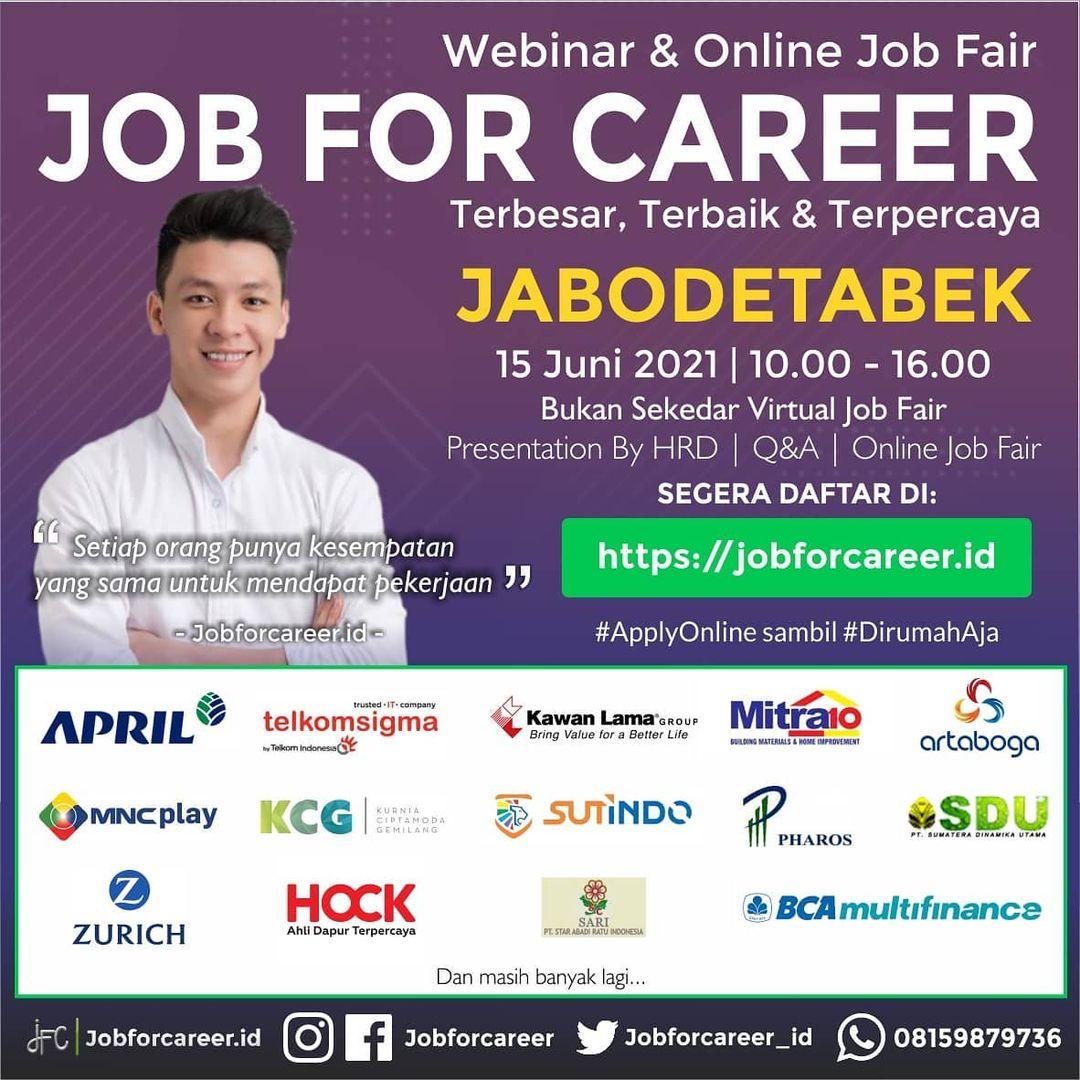 Job For Career Jabodetabek