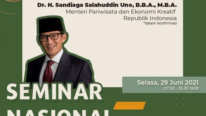 Seminar Nasional & Call for Paper – Supporting Tourism Industry to Restart Over the New Normal Ground