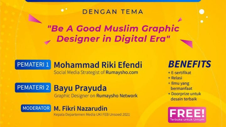 Workshop GRATIS Desain Grafis