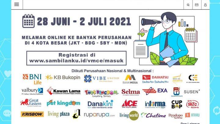 Virtual Mega Career Expo – Juni 2021