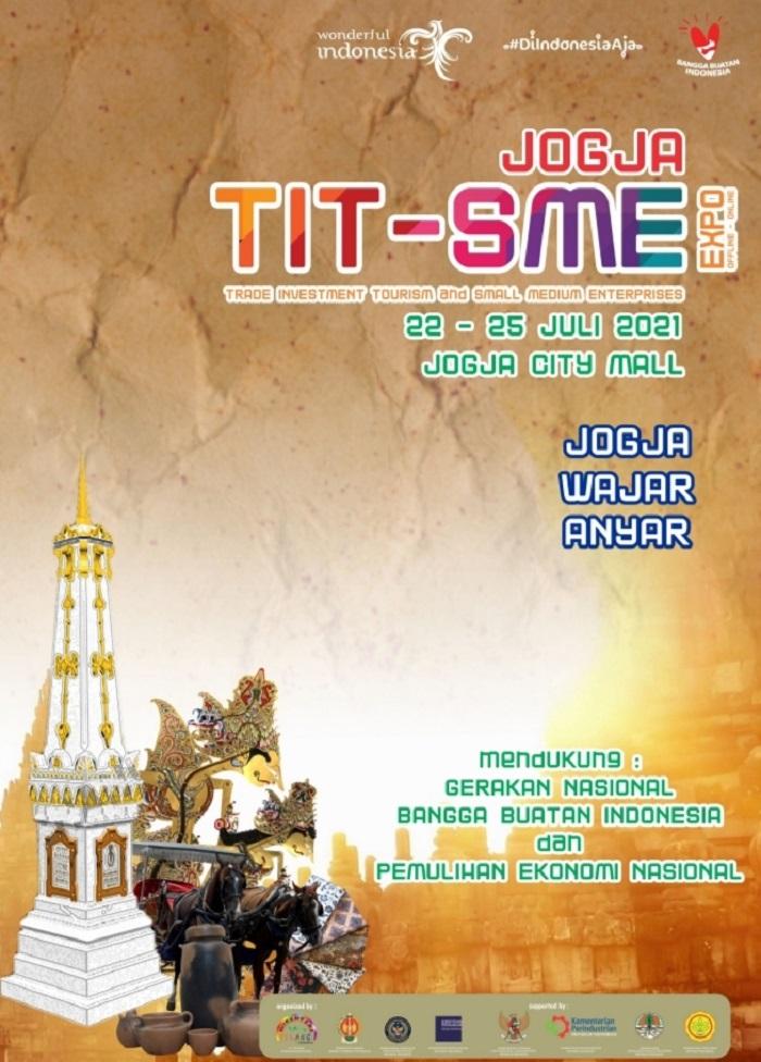 JOGJA SMEITT Expo 2021 (Pameran Pariwisata, Perdagangan, Perindustrian, Investasi, Perikanan dan Pertanian)