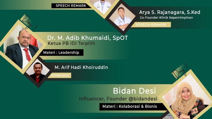 Webinar Klinik Kepemimpinan (Urgensi Kolaborasi Interprofesi Kesehatan)