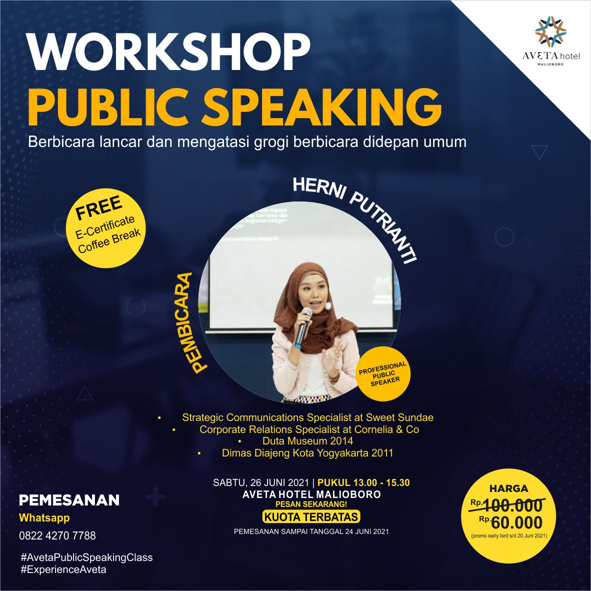 Workshop Public Speaking