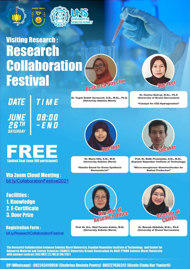 Research Collaboration Festival