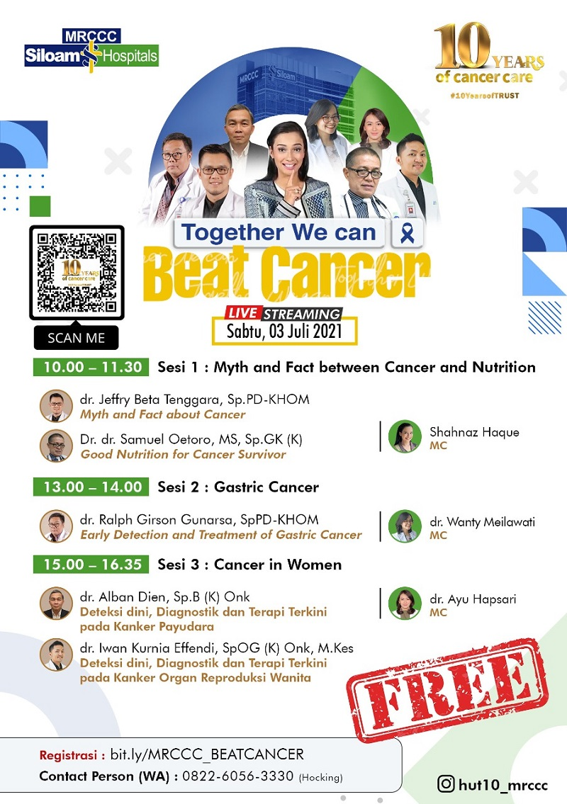 Webinar: Together We Can Beat Cancer