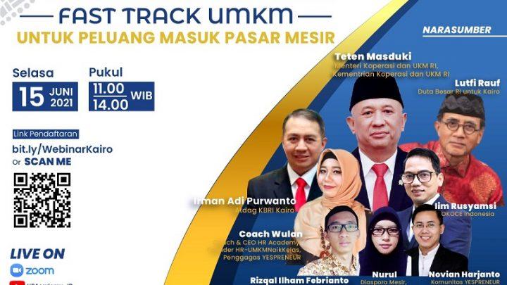 WONDERFUL INDONESIA – Fast Track UMKM Untuk Peluang Pasar di Mesir