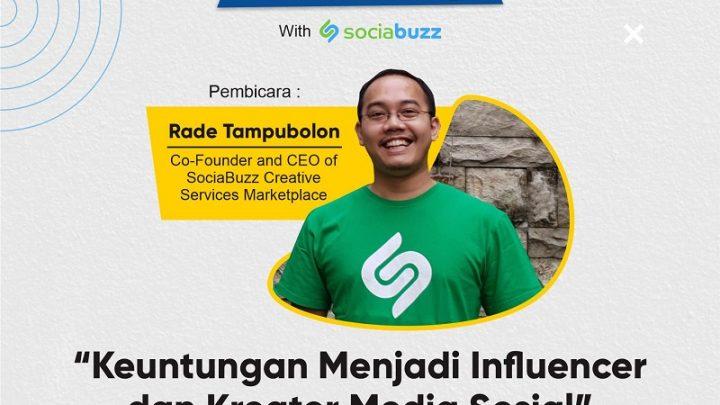 Webinar – Keuntungan Menjadi Influencer dan Kreator Media Sosial