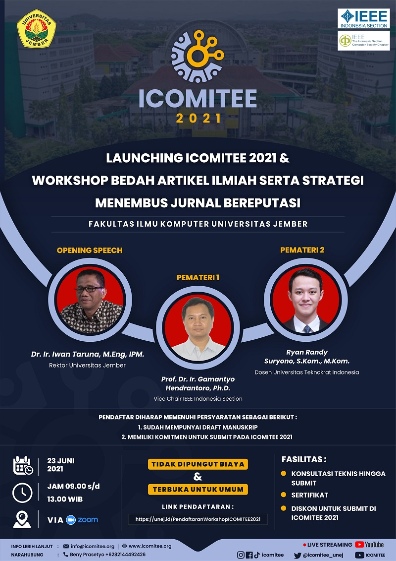Launching ICOMITEE & Workshop