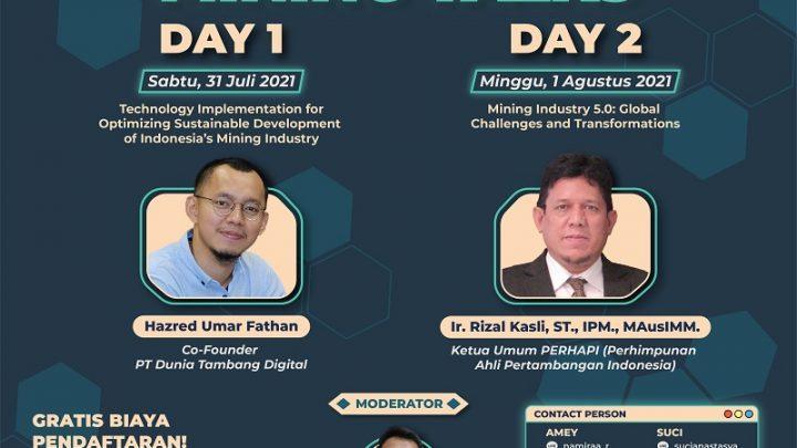 Mining Talks – ISOMETRIC 2021