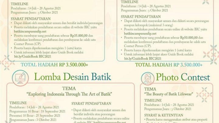 Batik in Campus XI 2021