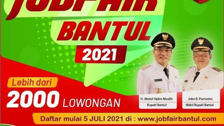 Virtual Job Fair Bantul 2021