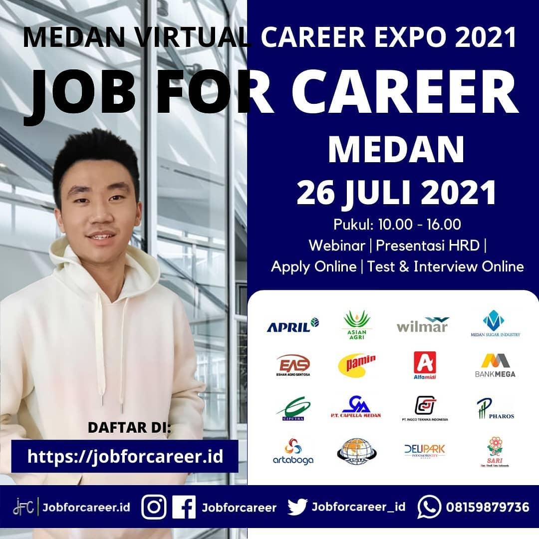 Medan Virtual Career Expo - Job For Career