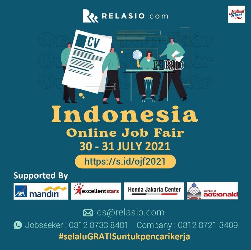INDONESIA Online Job Fair #regain