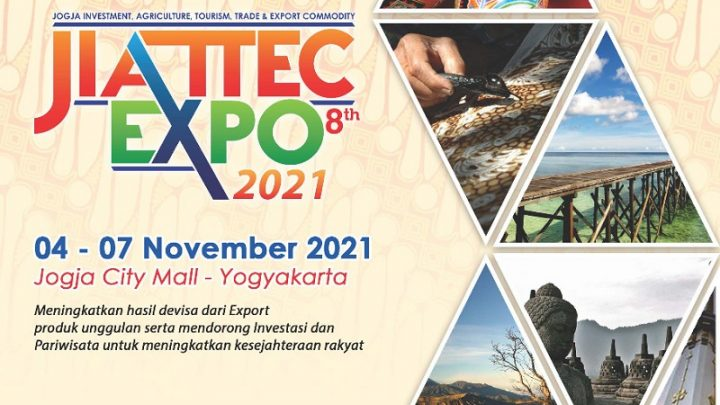 JOGYA INVESTMENT AGRICULTURE TOURISM TRADE & EXPORT COMMODITY EXPO 2021 (JIATTEC EXPO 2021 ke-8)
