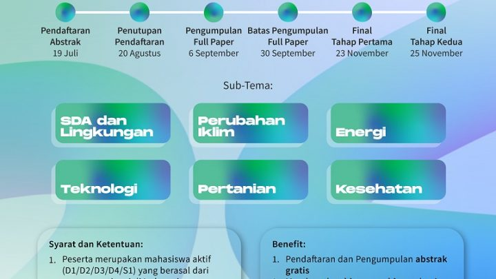Lomba Karya Tulis Ilmiah Nasional – The 13th Geography Days