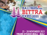 BALI INVESTMENT TOURISM & TRADE EXPO 2021 (BITTRA EXPO 2021 ke-8)