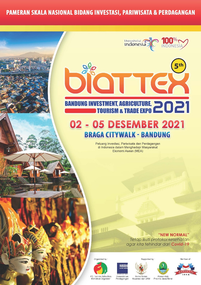 Bandung Investment Agriculture Tourism and Trade Expo 2021 ke-5