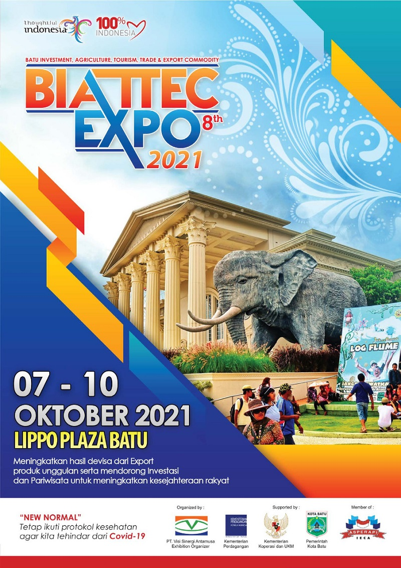 BATU INVESTMENT AGRICULTURE TOURISM TRADE & EXPORT COMMODITY EXPO 2021 (BIATTEC EXPO 2021 ke-8)