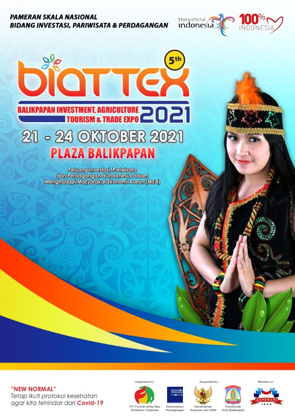 BALIKPAPAN INVESTMENT AGRICULTURE TOURISM AND TRADE EXPO 2021 (BIATTEX EXPO 2021 ke-5)