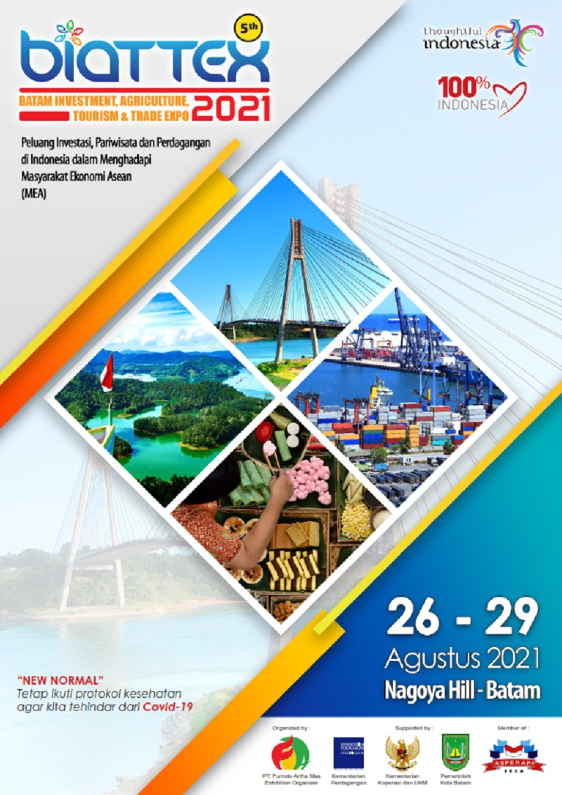 Batam Investment Agriculture Tourism and Trade Expo 2021 ke-5